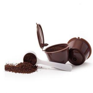 Cápsulas de café recargables